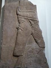 Lamassu Relief (Aidan McRae Thomson) Tags: nineveh assyrian relief sculpture ancient mesopotamia britishmuseum london