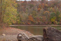 Martin's Fork Lake (Back Road Photography (Kevin W. Jerrell)) Tags: kentucky lakes harlancounty smith water fall autumn backroadphotography autumncolors cold windy nikond60 martinsforklake