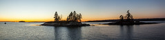 Sundown (Me in ME) Tags: harpswell maine sunset panorama