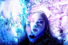 (Carli Vgel) Tags: carlivgel portrait selfportrait magic witchy winter forest snow color minimal surrealist nature