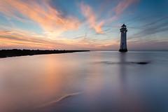 Afterglow Perch rock august (GOLDENORFE) Tags: perchrock sunset littlestopper seascape longexposure