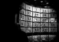 numbers (marcobertarelli) Tags: holy calendar christmans bw street shadow particular photography culture tradition milan numbers city gallery vittorio emanuele sweet