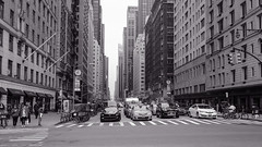 manhattan skyline..I  NY! (Ken B Gray) Tags: manhattan skyline nyc newyork blackwhite bw centralpark uptown 40mmpancakelens prime 6d intersection bigapple noiretblanc