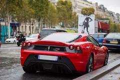 Spotting 2012 - Ferrari 430 Scuderia (Deux-Chevrons.com) Tags: ferrarif430 ferrari430 ferrari430scuderia ferrarif430scuderia scuderia ferrari f430 430 supercar sportcar exotic exotics france paris spot spotted spotting croise rue street voiture auto automobile automotive car coche