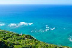 View from Diamond Head (when I'm on vacation) Tags: diamond head diamondhead hawaii oahu honolulu usa hiking view ocean sea land landscape nature hike
