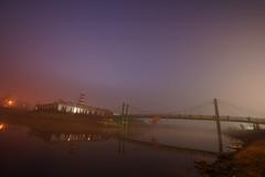 DSC08501 (cemilÖzenli) Tags: eskişehir fener adası gaga yaya köprüsü porsuk sonbahar pedestrian bridge sunrise autumn