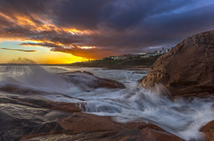 Knights Beach (Michael Waterhouse Photography) Tags: red