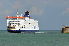 Pride of Canterbury entering the harbour at Dover. (Vodka Burner) Tags: ferry kent vessel po dover poferries prideofcanterbury freightferry msprideofcanterbury