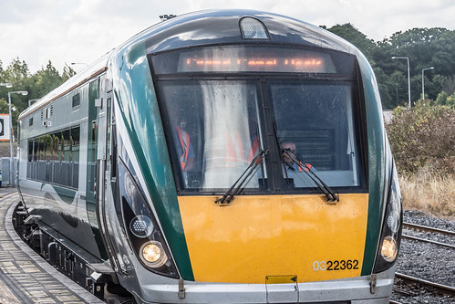 THE MINISTER PLUS PLATFORM 10 AND THE PHOENIX PARK RAILWAY TUNNEL [NOT FORGETTING IRISH RAIL STAFF] REF-107116