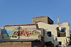 Chania old town (Eleanna Kounoupa) Tags: graffiti greece crete oldtown chania