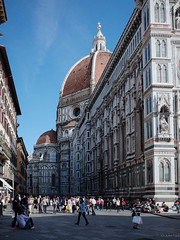 Duomo (jkpark78) Tags: street travel vacation people italy architecture florence october italia cathedral dome firenze gr duomo ricoh 2013