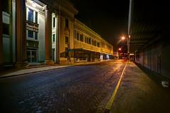 Laredo, Texas (mudpig) Tags: longexposure downtown texas gothic bank cobblestone laredo hdr sanleandro centralbusinessdistrict mudpig stevekelley stevenkelley