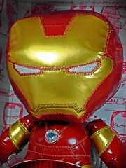 Avengers Age of Ultron DVD Night  Fabrikations  Funko Soft Sculpture No.15  Iron Man  Close Up & Cute!! (My Toy Museum) Tags: man dvd iron soft age avengers funko ultron fabrikations