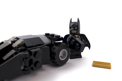 I only work in black And sometimes very, very dark grey (tomtommilton) Tags: black macro toy toys photo lego bruce wayne master photograph legos batman minifig minifigs build batmobile supermacro builder minifigure tumbler afol minifigures darkgrey legomovie