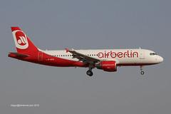 D-ABZA - 2008 build Airbus A320-216, on approach to Runway 24L at Palma (egcc) Tags: ab airbus mallorca palma majorca a320 ber airberlin pmi 3532 lepa dabza a320216 eidst