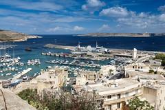 Mgarr Marina and Ferry Port (Chris J Hart) Tags: ferry marina gozo mgarr ghajnsielem gajnsielem