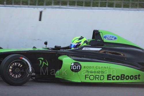 James Pull in MSA Formula at Rockingham, September 2015
