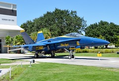 Blue Angels F-18 Hornet (atrain1728) Tags: blue station plane army fighter force military air navy jet angels marines hornet f18 naval base aviator pilot pensacola