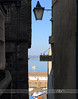 Tenby - scenic view through the alley  copy