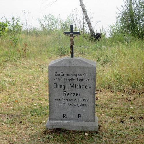 Gedenkstein Michael Retzer