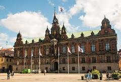 Malm Town Hall (Radhuset) (LuckMaster) Tags: city town hall sweden scandinavia malm malmo stad stadhuis radhuset zweden scandinavi