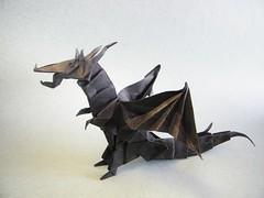 Fiery Dragon - Kade Chan (Rui.Roda) Tags: origami dragon kade chan papiroflexia fiery drago papierfalten