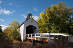 Parvin Covered Bridge 19 (martinjones1946) Tags: bridge oregon landscape coveredbridge lanecounty parvin martinjones nikond5000