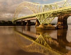 Silver Jubilee Bridge II (PaulEBennett) Tags: bridge mersey runcorn ref runcornbridge silverjubileebridge