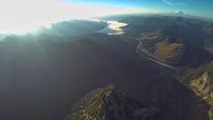 Modest Beginnings (Badnotna FPV) Tags: mountain 3 forest sunrise flying washington pacific northwest wing peak hero cascade snoqualmie fpv guye gopro fx61