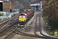 66200 Kirk Sandall Junction (DieselDude321) Tags: db 66 junction class kirk dbs schenker sandall 66200