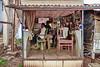 India - Odisha - Bhubaneswar - Barber Saloon
