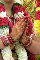 The hands (_EdG_) Tags: flowers wedding india bride hands tamilnadu dharmapuri