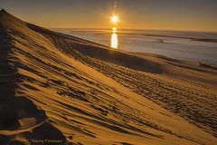 Coucher sur la dune, Pylat, Gironde (BELQUENOT) Tags: soleil dune coucher sable pylat