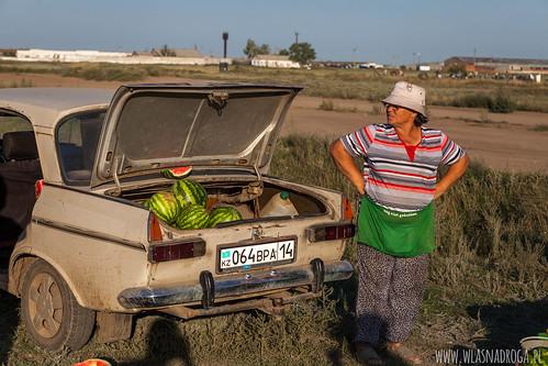 Sprzedawczyni arbuzów