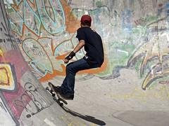 Skater - Santiago de Chile (alobos Life) Tags: chile parque santiago boy guy de spring skate skateboard chico ohiggins