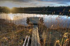 Kontiolahti - Finland (Sami Niemeläinen (instagram: santtujns)) Tags: nature suomi finland landscape pond maisema luonto lampi laituri kontiolahti kunnasniemi