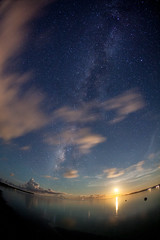 2014 #13 (kobaken++) Tags: ocean light summer sky coral canon eos crystal outdoor wide wave 5d okinawa      markii  taketomi ishigaki    mark2       polarie  milkywav