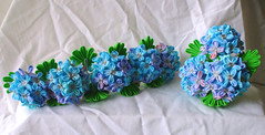 DSCF4027 (EruwaedhielElleth) Tags: flowers flower hair handmade fabric hana accessory tsumami kanzashi zaiku imlothmelui