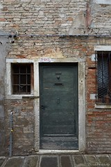 Venice Architecture (Vinchel) Tags: italy venice travel holiday leica q door architecture texture brick stonework building window outdoor