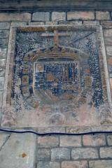 ESCUT DE LA INQUISICIÓ - MUSEU MARÈS (Yeagov C) Tags: 2016 barcelona carrerdelscomtes catalunya escut escutdelainquisició fredericmarès inquisició museu museufredericmarès