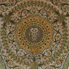 Mosaic (mag3737) Tags: mosaic caduceus tile ceiling chicago cultural center squaredcircle squircle