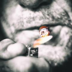 Lit.... (Prespective) Tags: activeassignmentweekly aaw selectivecolor cigar bestofweek1 bestofweek2 bestofweek3 bestofweek4 bestofweek5