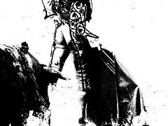 Juan Bautista (aficion2012) Tags: arles goyesca goyesque corrida france francia bullfight toro bull toreau juan bautista torero matador monochrome bw nb