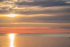 Sunset (Infomastern) Tags: skanr cloud hav sea sky