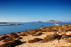 Palatia Island (ika_pol) Tags: naxos greece cyclades cycladesislands greekislands morning port geotagged mediterranean naxostown aegeansea sea aegean palatia