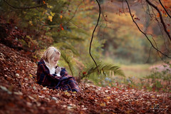 ... Autumn carries more gold in it's pocket than all the other seasons ... (Margarita K...) Tags: southwales south wales beautifulwales forest autumn golden color colorful november leaves child childhood fairytales portrait ngc nikon d5200 mkphotography margaritakphotography