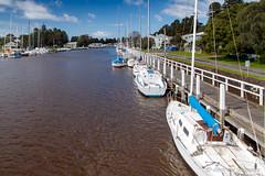 Moyne River, Port Fairy, Victoria. (andrew52010) Tags: boardwalk greatoceanroad holiday marina moyneriver portfairy rivermoyne victoria victoria2016 yachts