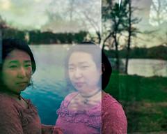 Double take (Arutemu) Tags: iso400 kodak mediumformat pentax pentax67 pentax6x7 portra portra400 takumar90mm film light