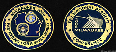 2008 FBI Milwaukee National Academy Conference Coin (Nate_892) Tags: 2008 fbi milwaukee national academy conference coin na federal bureau investigation wi wisconsin