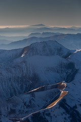 south french alps at sunset (marclelièvre) Tags: alpes alps mountain montagne provence allos ventoux